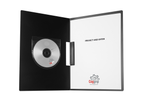 CD/DVD lomme med flap