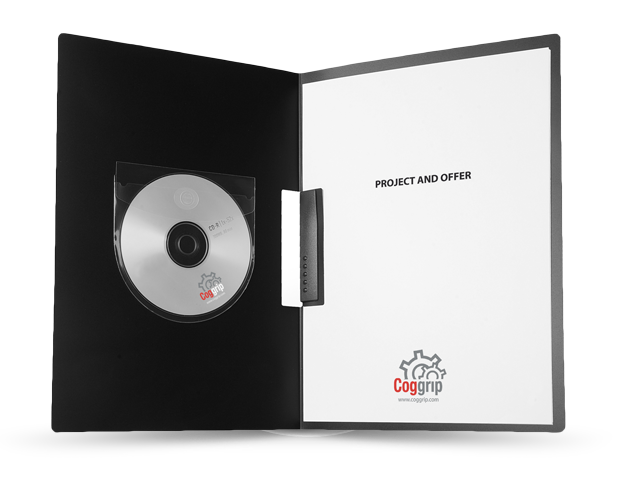 CD/DVD pocket with flap