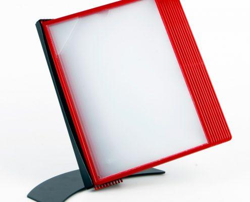 EasyMount bord, 10 lommer, rød