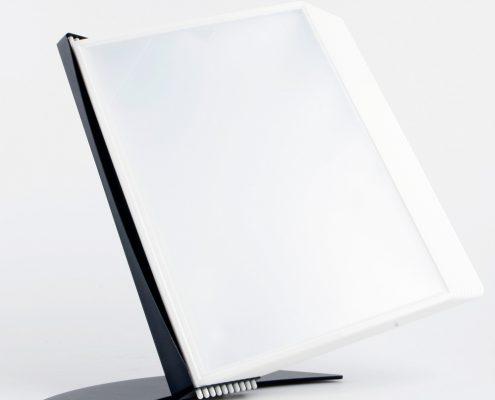 EasyMount bord, 10 lommer, hvid