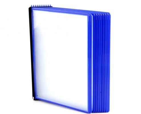 EasyMount væg, 10 lommer, blå