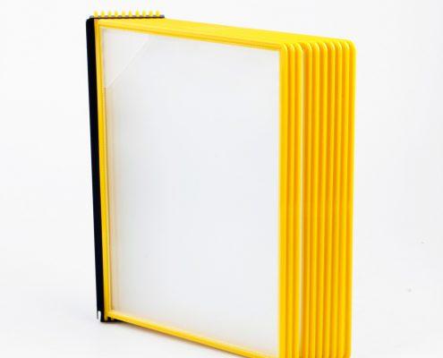 EasyMount væg, 10 lommer, gul