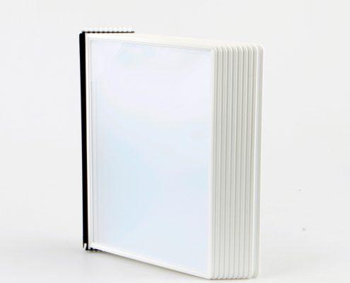 EasyMount væg, 10 lommer, hvid