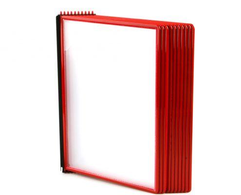 EasyMount væg, 10 lommer, rød