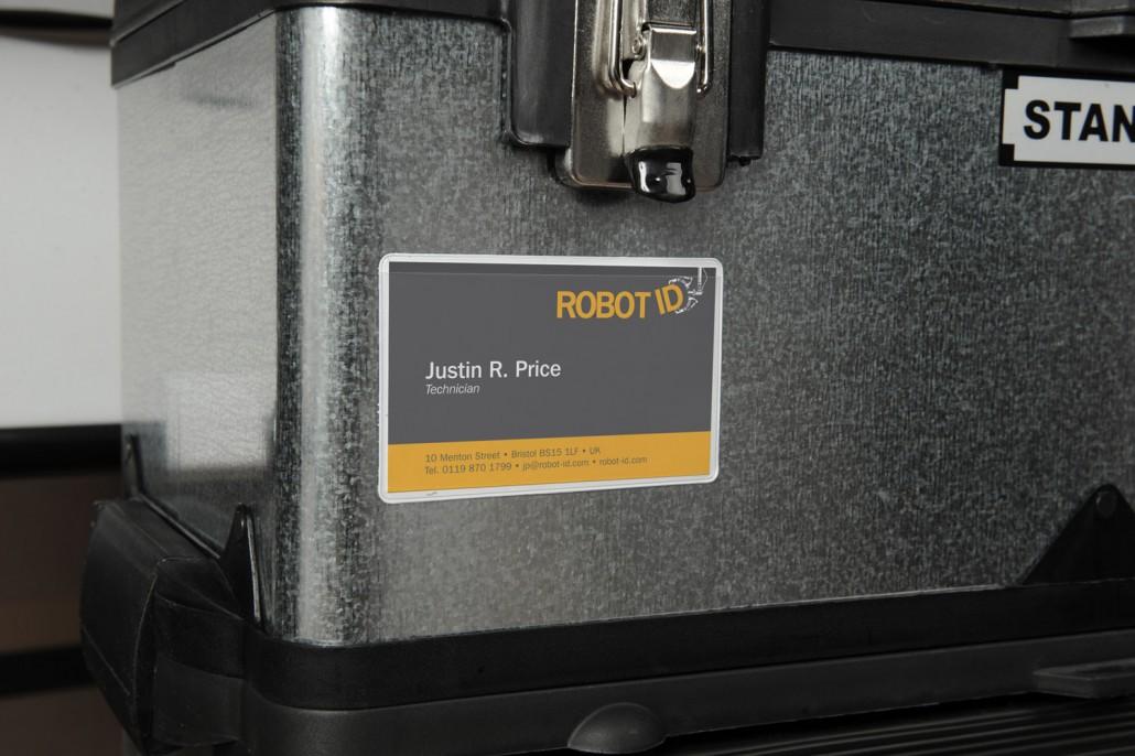 Magnetic Business Card Pocket | Probeco