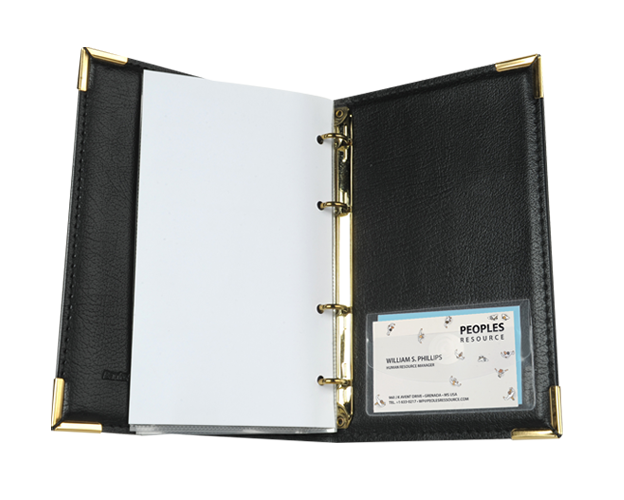 Business Card Pockets with flap